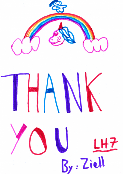Thank You (Rainbow)