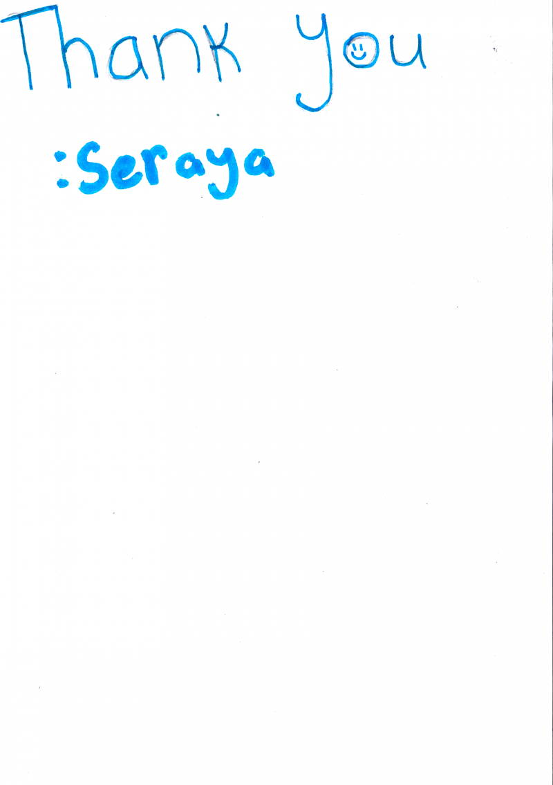 Thank you - Seraya