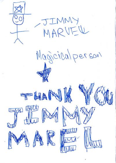 Jimmy Marvel, Magical Person [star] Thank You Jimmy Marvel