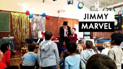 Jimmy Marvel Kids Magician