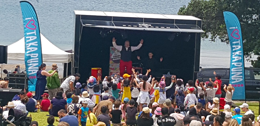 Jimmy Marvel Public Event Show - Takapuna Summers Days 2021